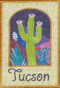 click here to view larger image of Tucson Cactus (hand painted canvases)