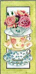 click here to view larger image of Tea Rose (hand painted canvases)
