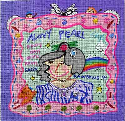 click here to view larger image of Nancy Drew, Aunt Pearl... (hand painted canvases)