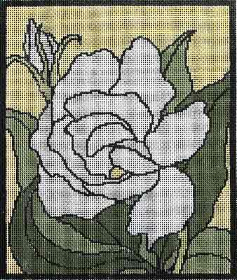 click here to view larger image of Gardenia (hand painted canvases)