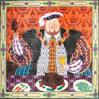 click here to view larger image of Henry VII (hand painted canvases)