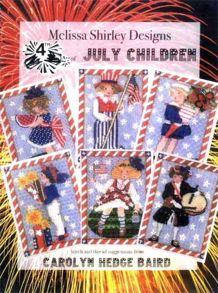 click here to view larger image of Victorian 4th of July Stitch Guide (books)