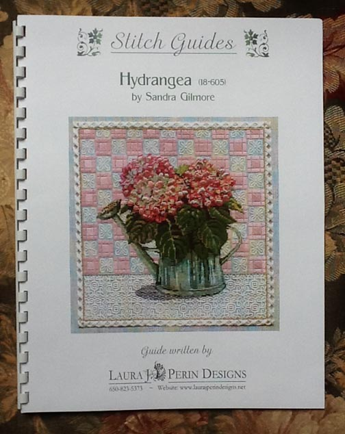 click here to view larger image of Hydrangea Stitch Guide (books)