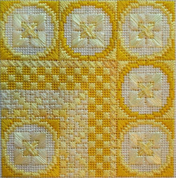 click here to view larger image of Lemon (counted canvas work)