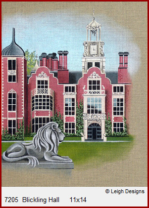 click here to view larger image of Blickling Hall (hand painted canvases)