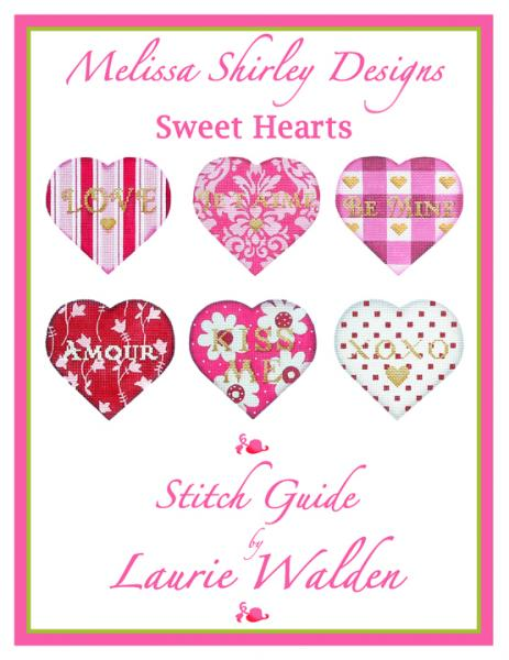 click here to view larger image of Sweet Hearts Stitch Guide (books)