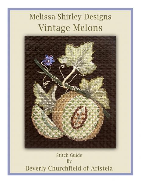 click here to view larger image of White Melon Stitch Guide (books)
