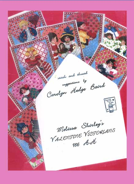 click here to view larger image of Valentine Victorians Stitch Guide (books)