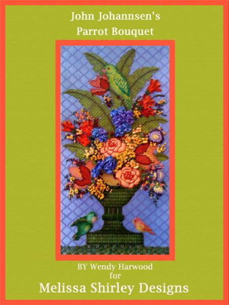 click here to view larger image of Parrot Bouquet - Stitch Guide (books)