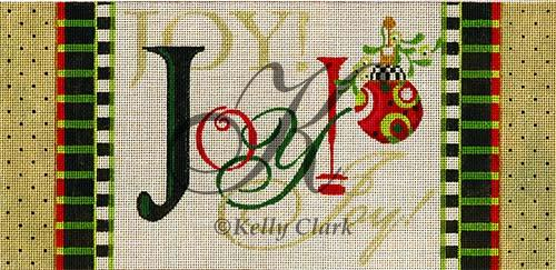 click here to view larger image of Triple Joy Banner (hand painted canvases)