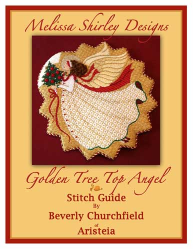 click here to view larger image of Golden Tree Top Angel Stitch Guide (books)