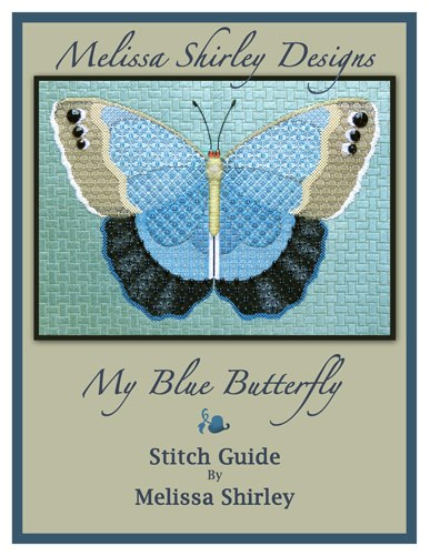 click here to view larger image of My Blue Butterfly Stitch Guide (books)