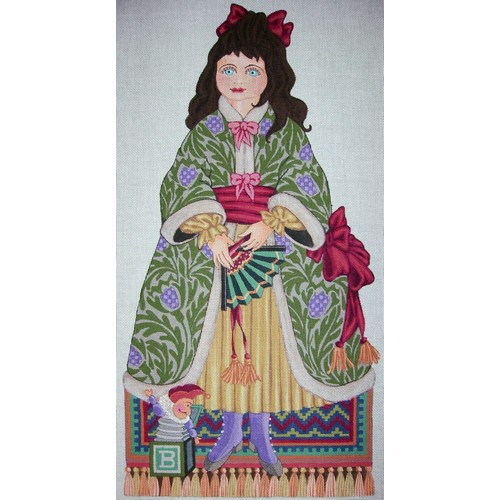 click here to view larger image of Scotch Doll (hand painted canvases)