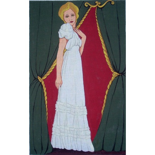 click here to view larger image of Deco Gown (hand painted canvases)
