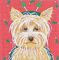 click here to view larger image of Yorkshire Terrier (hand painted canvases)