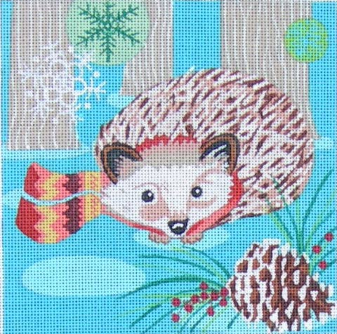click here to view larger image of Woodland Hedgehog (hand painted canvases)