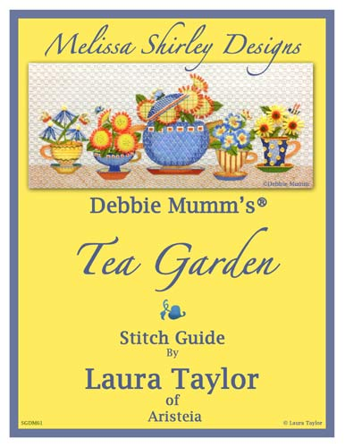 click here to view larger image of Tea Garden Stitch Guide (books)