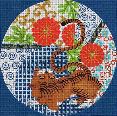 click here to view larger image of Timeless Tiger (hand painted canvases)