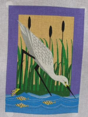 click here to view larger image of In The Marsh (hand painted canvases)