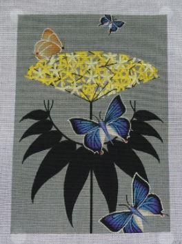 click here to view larger image of Elderberry (hand painted canvases)