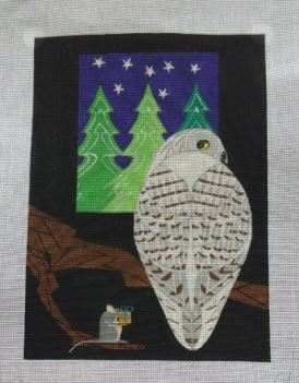 click here to view larger image of Snowy Owl (hand painted canvases)