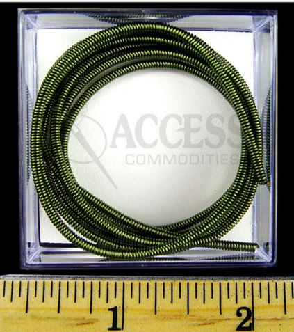 click here to view larger image of Green Wire Pearl Purl #2 (fibers)