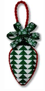 click here to view larger image of Light Bulb - Christmas Trees (hand painted canvases)