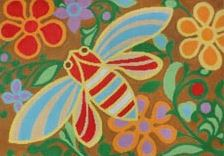 click here to view larger image of Bee Jewels (hand painted canvases)