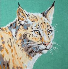 click here to view larger image of Wildcat (hand painted canvases)