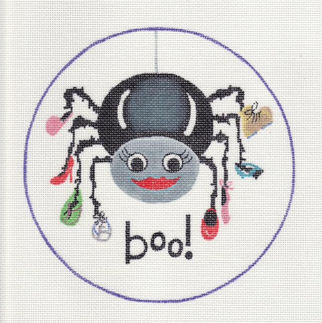 click here to view larger image of Boo! (hand painted canvases)