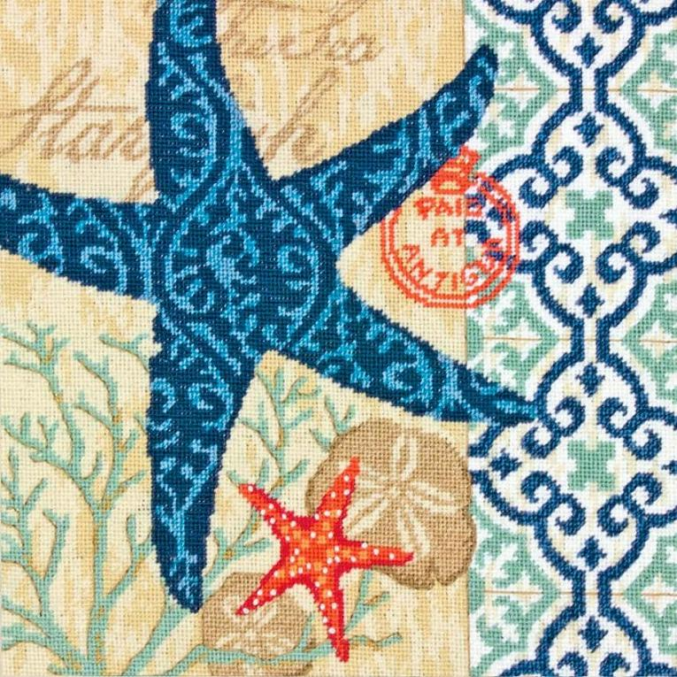 click here to view larger image of Starfish (needlepoint kits)