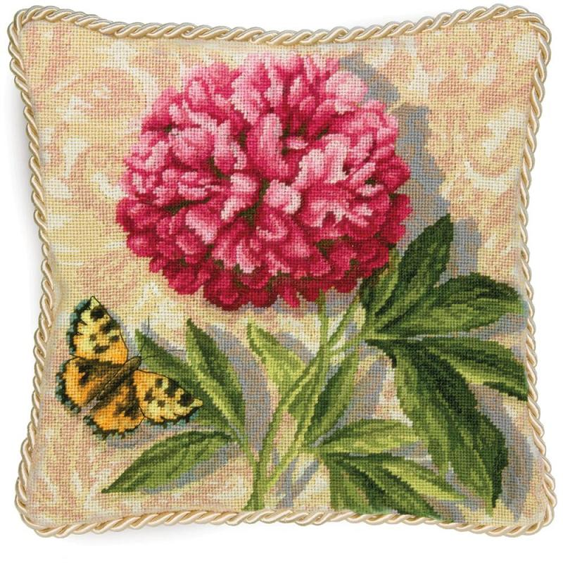 click here to view larger image of Peony (needlepoint kits)