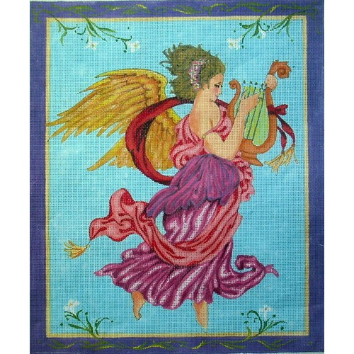 click here to view larger image of Pastel Angel (hand painted canvases)