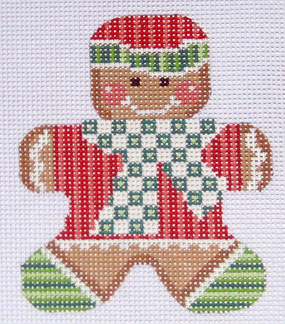 click here to view larger image of Gingerbread Boy 1 Stitch Guide (books)