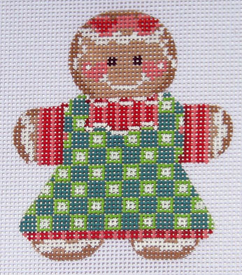 click here to view larger image of Gingerbread Girl 2 Stitch Guide (books)