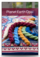click here to view larger image of Planet Earth  - Opal (fibers)