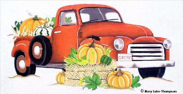 click here to view larger image of Autumn Truck (None Selected)