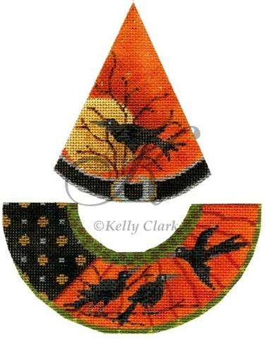 click here to view larger image of Raven Flies Witch Hat Stitch Guide (books)