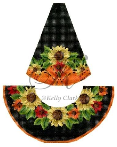 click here to view larger image of Sunflower Garden Witch Hat - Stitch Guide (books)