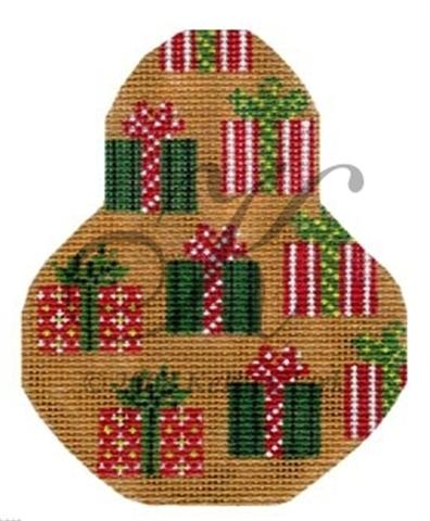 click here to view larger image of Li'l Presents on Pears Ornament Stitch Guide (books)