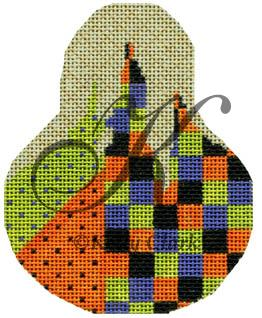 click here to view larger image of Checkered Madness Pear Stitch Guide (books)