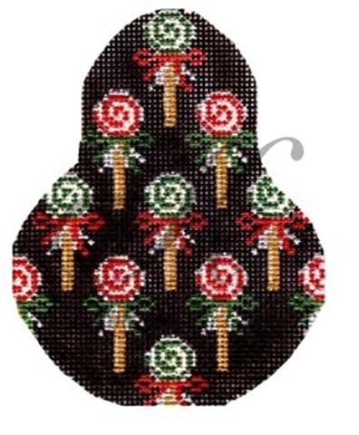 click here to view larger image of Lollipop Pear Ornament Stitch Guide (books)