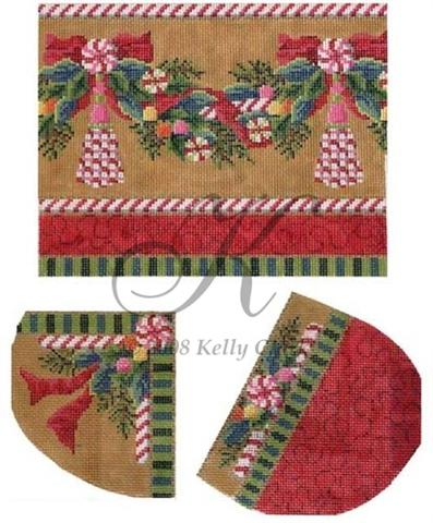 click here to view larger image of Christmas Candy Heel, Toe & Cuff (None Selected)