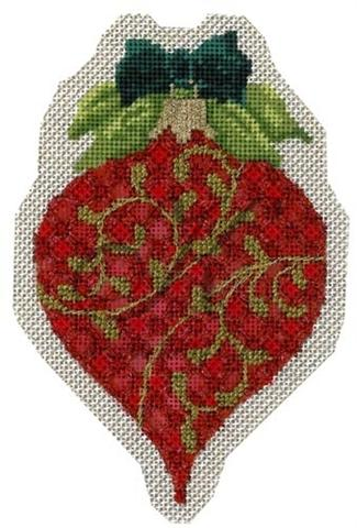 click here to view larger image of July Ruby Ornament Stitch Guide (books)