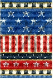 click here to view larger image of Stars-n-Stripes Firecracker Stitch Guide (books)