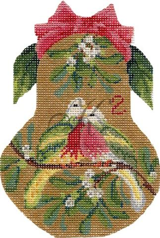 click here to view larger image of Two Turtle Doves Pear Stitch Guide (books)