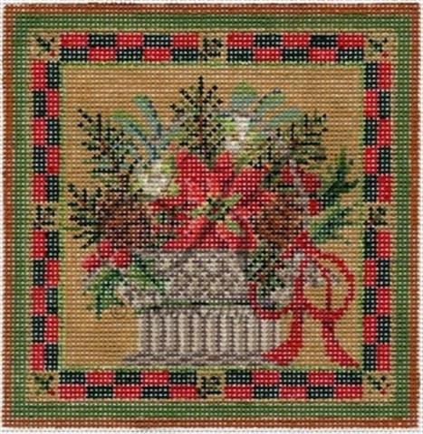 click here to view larger image of Winter Greens Basket Stitch Guide (books)