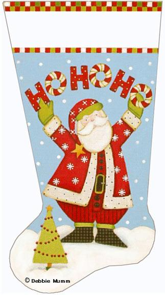 click here to view larger image of Ho Ho Ho Stocking (None Selected)