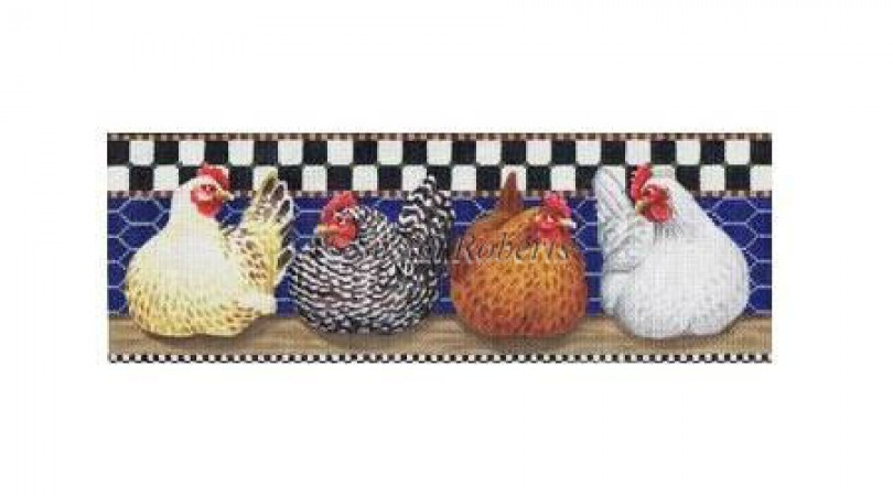 click here to view larger image of Chicken Coop (hand painted canvases)