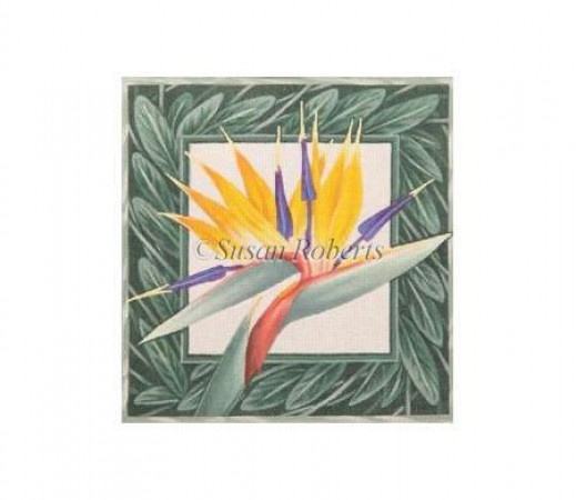 click here to view larger image of Bird of Paradise (hand painted canvases)